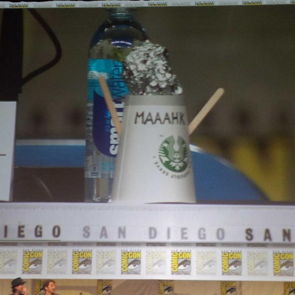 "Mark's ""doll"" they created. #supernatural #wbsdcc http://t.co/kKqR0FHL3F"