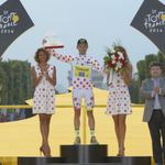 .@rafalmajka remporte le Maillot à Pois du Tour de France 2014 / wins the Polka-Dot jersey! #TDF ???? http://t.co/F8USjlnhsn