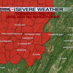 RT @StormTracker12: TORNADO WATCH has been issued for the entire area until 9:00 PM tonight... --@SchuermanWxWHAG http://t.co/ZkaMPBC66v