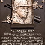 #FirstLook: Tony La Russas Hall of Fame plaque. #HOFWKND http://t.co/KSVXsUvU7E