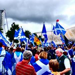 RT @boboboydy: #bbcglasgow2014 #bbcbias #indyref Todays demo in Glasgow. All we ask for is balance in bbc reporting of #indyref http://t.co/EnZfsevh2T
