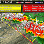 Another severe thunderstorm warning for Western Knox, Sevier, Blount, Anderson Counties. http://t.co/jHcFdjoTTh
