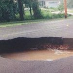 RT @13WHAM: Massive craters give drivers fits in Fairport http://t.co/CtfJbc12E4 #13WHAM #ROC http://t.co/op13hGXsat