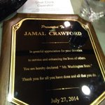 ". @JCrossover honored as ""Mr. Washington State"" at todays @SeattleProAm all-star game. http://t.co/9qbmU3GxQD"