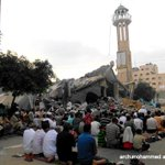 you can destroy our mosque, but you can never destroy our faith http://t.co/OYJMVF9g94 via @Mohmmedqatrawi @ahmedabdall1