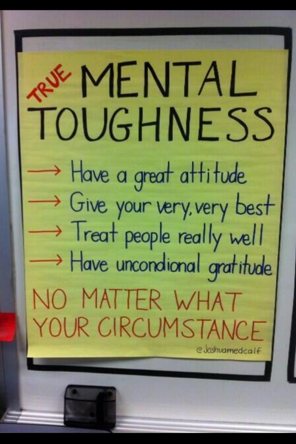 Mental Toughness http://t.co/Tx3lH4tvqn