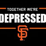 RT @iRepFrisco: Together were depressed! #SFGiants http://t.co/jDA8tw5sf3