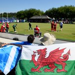 RT @BBCWalesSport: BRONZE: @TeamWales take the bronze medal in the lawn bowls mens triples: http://t.co/yHicbs2jhx #Glasgow2014 http://t.co/dIv5OSY9ec