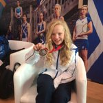 Scotlands 13 year old Commonwealth bronze medalist Erraid Davies. Hear from her later on SSN @Glasgow2014 http://t.co/9yo5Bip8id