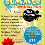 RT @Biz_Promo_Video: Competition Time! Watch the video on our website on how to enter WIN A FREE VIDEO http://t.co/U6bcRYW3m2 #kprs http://t.co/RerF4q8hEW
