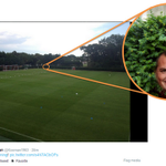 Ronald Koeman tweeted a picture of #Saints training ground. What we spotted was incredible! #LFCspy http://t.co/fHWMi5iS2b
