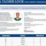 In-depth stats infographic on the #WexfordvLimerick #GAA match here: http://t.co/sf4AbShdL3 #LibertyStats @LibertyIRL http://t.co/Zlc10R6PUA