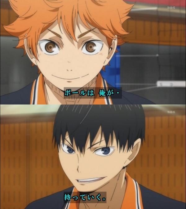 いいコンビになったよねこの2人 #hq_anime by HELLSING_DAWN