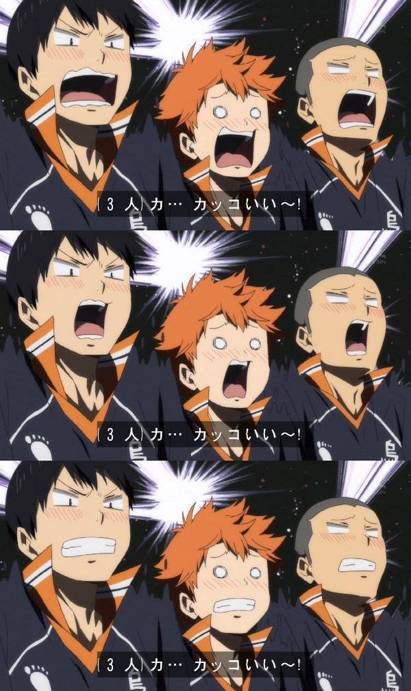 影山そんな顔できるんだな #hq_anime by Story_terror