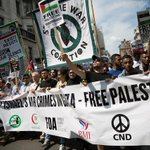 Hanging out with pro-Palestine demonstrators in London on Saturday: http://t.co/j91UBwo9dc http://t.co/NxEjT0gUUo
