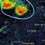 Mother Nature not giving up tonight, a few more thunderstorms developing in NW #Vegas @ktnv #radar http://t.co/JeYDJCYQO0