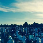 EID IN THE PARK..!! #EidMubarak #EidInThePark #Birmingham #Smallheath #Prayer #Worship #Summer #Hot http://t.co/m1VMRg6XI3