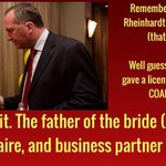 Remember that wedding in India that Gina flew Barnyard and co to? Yeah. #auspol #qanda #onetermtony http://t.co/jJQHdqA3tT