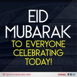 RT @Arsenal: Eid Mubarak to every @Arsenal supporter celebrating today! http://t.co/D8ybKxpbml