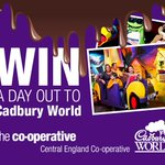 This weeks prize #win a trip to @CadburyWorld RT@Follow to enter T&CS Apply: http://t.co/fS1DpYdwtn #Summerholidays http://t.co/Hdxutcda4R