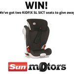 RT @SunmotorsUK: RT to enter! #Win 1 of 2 @BritaxUK KIDFIX SL SICT car seats worth £145. Sun T&Cs http://t.co/mAVgNBBmP0 #comp #free http://t.co/Y9huevEj1G