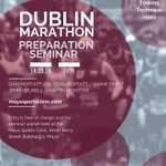 Running the Dublin Marathon? Join us for our Preparation Seminar on Thurs 14th! #Marathon #DublinMarathon http://t.co/HL9K9fo2Rg