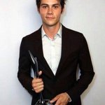 Dylan OBrien with this Breakthrough Actor award at Young Hollywood Awards. http://t.co/7UrYmSwi9C