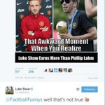 Luke Shaw gives trolling account taste of its own medicine. Offending tweet subsequently deleted... http://t.co/BYFDlnBeM5