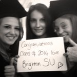 RT @BSUActivities: Congratulations class of 2014 from Brighton Students Union!! @SUBrighton @brightonalumni #brightonforever http://t.co/NJ025WbLu5