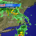 RT @Met_CindyFitz: Radar check 8:10am ...bulk of lightning now across southern VT/NH... heavier downpours coming out of RI into MA #WCVB http://t.co/YR5c86DRua