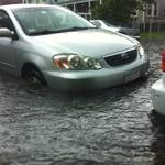 Cars may float away in #Allston @universalhub http://t.co/laOI1PXR6t