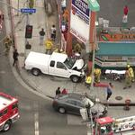 #BREAKING multiple people struck by pickup truck in Koreatown at Beverly & Normandie. http://t.co/KJavA9eyoC http://t.co/KlpYzIdNEf
