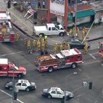 RT @CBSLA: 1 dead, 2 critically injured after a driver crashes into them at #Koreatown intersection. http://t.co/uySsCpIpkD http://t.co/lLaIUIsU9K