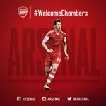 RT @Arsenal: Its another new signing! Calum Chambers has joined @Arsenal! http://t.co/I9P6zlAAdX #WelcomeChambers http://t.co/NAM7A8AM8D