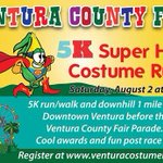 RT @VenturaCtyFair: Participate in the Ventura County Fair 5K Super Hero Costume Run! http://t.co/SuyZZd9qks