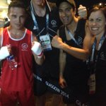 RT @nzolympics: Bowyn Morgan after his winning bout v Botswana with Chef de Mission Rob Waddell and athlete support #makingusproud http://t.co/YmELkAoKpk