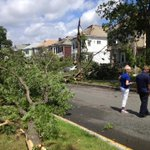 RT @BostonGlobe: BREAKING: A tornado touched down as heavy storms passed through Revere this morning. Updates: http://t.co/mkBVyEB51k http://t.co/JEGaYGpyJP