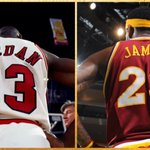 RT @SportsCenter: Michael Jordan gives LeBron his blessing to wear No. 23. MORE: http://t.co/UeGFyZNgzY http://t.co/dsHTtH3Ibc