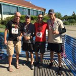 RT @OlyPD: 2 teams of OlyPD officers run, bike & paddle the Olympia Traverse this year. Finished 1st and 3rd in their division. http://t.co/ezpHhl3w6w