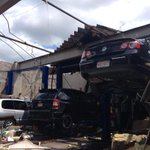 PHOTO: An auto-repair shop in Revere was damaged in the storm http://t.co/InGyIcsAtz http://t.co/XRGymvQOER