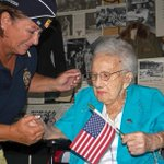 Nations oldest female veteran, 108-year-old Lucy Coffey, fulfills her dream http://t.co/1U5Ep5uv3k via @mjtibbs http://t.co/rIFmuukVJZ
