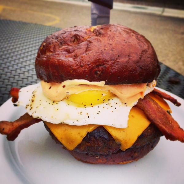 Only a few days left to try the #MERICA Burger. Get it before it's gone. #Excesstasy #BACON http://t.co/yggwa0bEq6