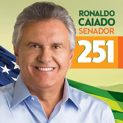 EU APOIO PARA O BEM DE GOIÁS E DO BRASIL @deputadocaiado PARA SENADOR... 251 ... http://t.co/bR3kkB4fRo