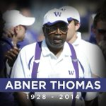Abner Thomas, @UW_Football Special Assistant, passed away Sunday. His warm smile and hearty laugh will be missed. http://t.co/cDPcb8yRYQ