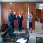 .@JulianCastro officially takes the helm of @HUDgov and views HUD as an agency of opportunity. http://t.co/PtcnCuyLGM
