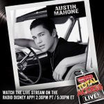 Send me ?s for @RadioDisney #TotalAccessLive on Wed in LA using #RDAskAustinMahone http://t.co/mTJWS1o8sN