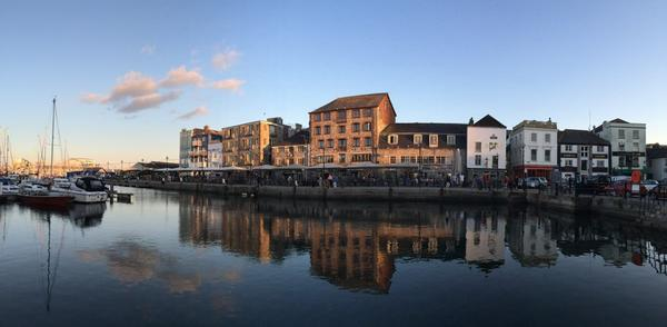 Oh @PlymBarbican you do look great at dusk :) #Plymouth http://t.co/ZLTDkj4lNe