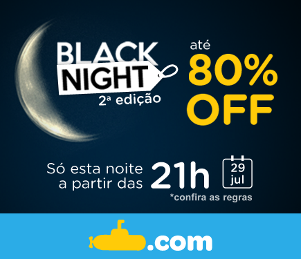 Fique ligado: a partir das 21h, ofertas com até 80% de desconto! >>> http://t.co/hTUizPqJ6D #BlackNightBR http://t.co/778naIIvJB
