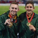 RT @rogersedres: Our first medal on the track tonight at #Glasgow2014 ! Well done to Fanie vd Merwe & Charl du Toit @Team_SA_2014 http://t.co/GB1EfsA3Zs
