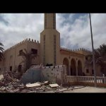 "Another mosque in 10 minutes. ISrael destroys Al-Saleheen Mosque in Rafah. #GazaUnderAttack"" #Pray4Gaza http://t.co/ZLNRT55hnw"